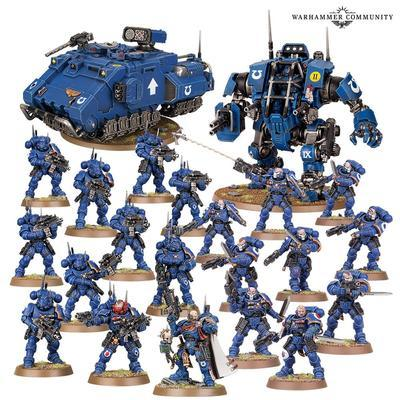 SPACE MARINES: INTERDICTION FORCE. - 2