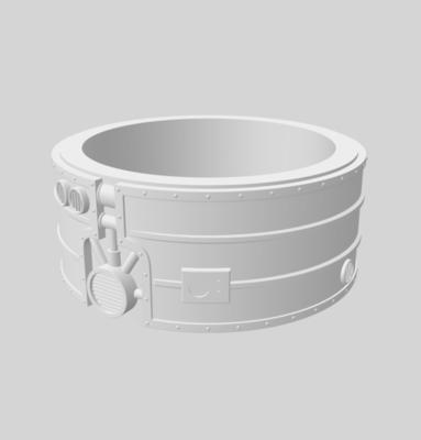 Toxic tank 3D file - 2