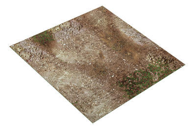 4'x4' Double Sided G-Mat: Battleground and Winter Realm - 2