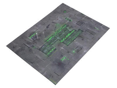"""22""""x30"""" Double Sided G-Mat: ChemZone and Lost World - 3"""