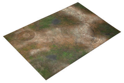 6'x4' Double Sided G-Mat: Lost World and Sands of Time - 3