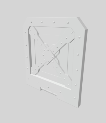 Container 3D file - 3