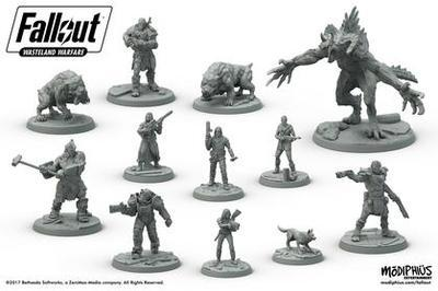 Fallout: Wasteland Warfare Starter Set - 3