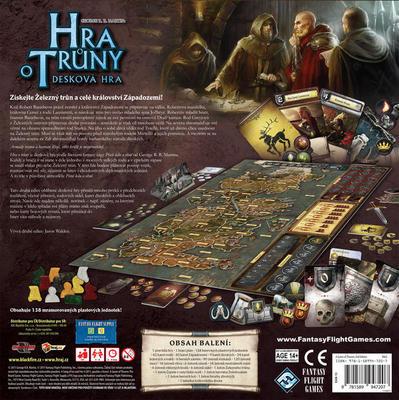 Hra o Trůny - desková hra - 3