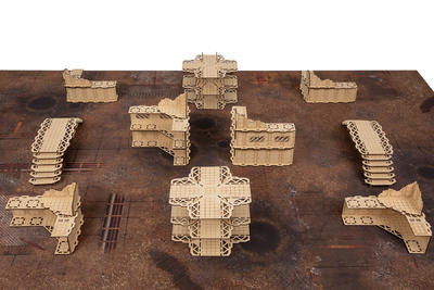 Hive City MDF unpainted - 3