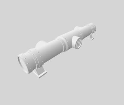 Conduits set 3D file - 3
