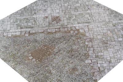 3'x3' G-Mat: Medieval Town - 4