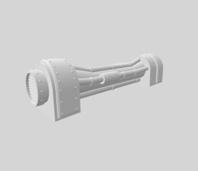 Conduits set 3D file - 4