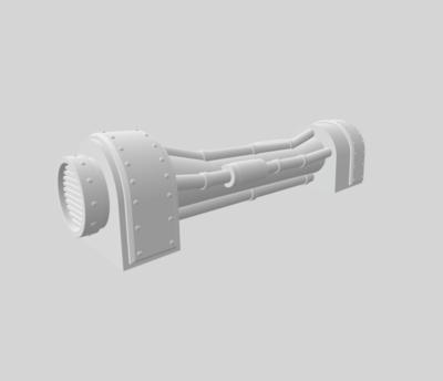 Conduits set 3D file - 4