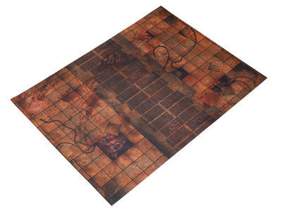 """22""""x30"""" Double Sided G-Mat: Chem Zone and Necropolis - 4"""