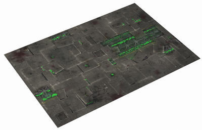 """44""""x30"""" -Double sided G-Mat: Chem Zone and Lost World - 5"""