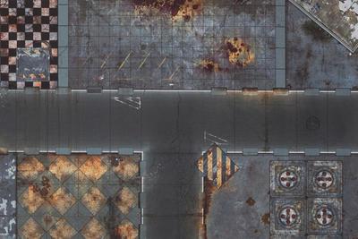 6'x4' G-Mat: Quarantine Zone - 5