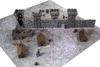 4'x4' G-Mat: Medieval Town - 6/7