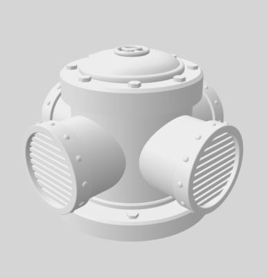 Conduits set 3D file - 6