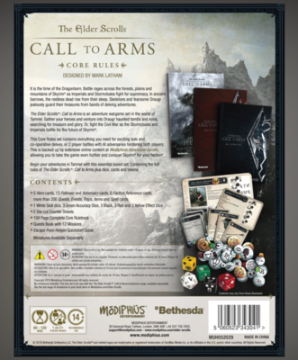 Elder Scrolls: Call to Arms - Core Rules Set - 6
