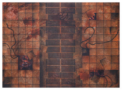 """22""""x30"""" Double Sided G-Mat: Chem Zone and Necropolis - 6"""