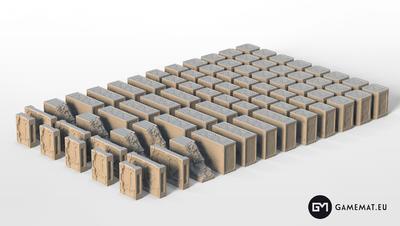 Hive Walls 3D file - 8