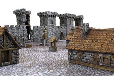 Medieval Castle Set - 9