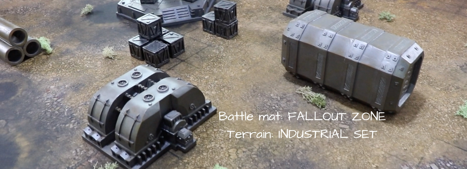 Professional battle mats and terrain for wargaming
