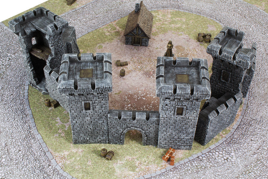 Medieval Castle Set - Gamemat eu